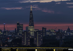 The Shard in the Blue Hour