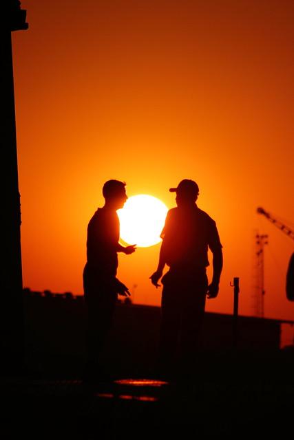 Hablando con el sol