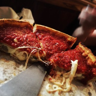 Famous #Chicago deep dish #pizza! #food #tasty | by Shockingly Tasty