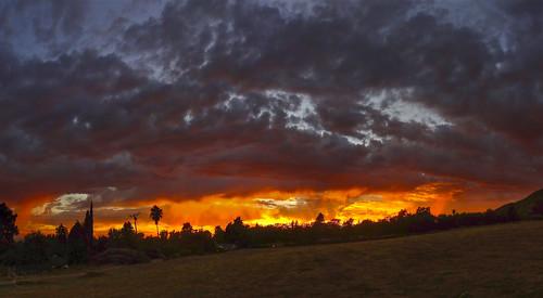 ca california la ledzeppelin losangeles socal sony sonydschx9v southerncalifornia stairwaytoheaven atardecer clouds landscape panorama pointandshoot puestadelsol sunset trees