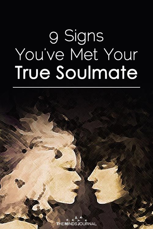 Soulmate And Love Quotes: 9 SIGNS YOU'VE MET YOUR TRUE SOU