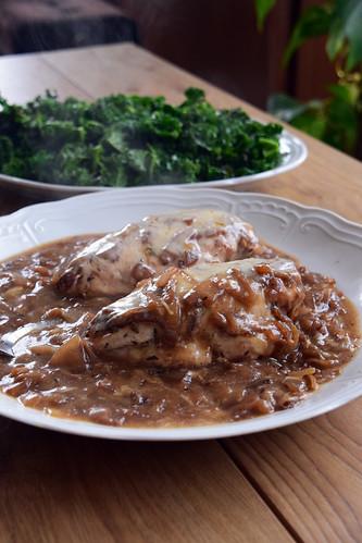 poulet façon soupe à l'oignon | by hberthone
