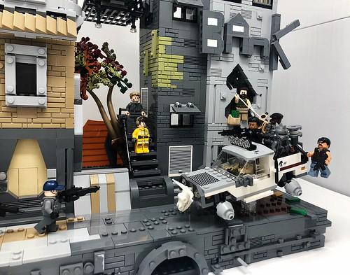 Futuristic Bank Robbery
