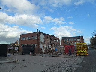 Huge Demolition around Frog Island Leicester 2018