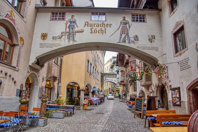 Auracher Löchl in Kufstein, Tyrol, Austria