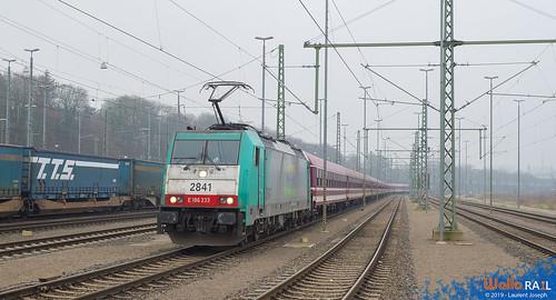 2841 lineas E13460 Aachen West 7 janvier 2019 laurent joseph www wallorail be