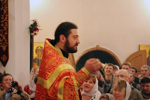 Пасхальное Богослужение в Свято-Никольском храме станицы Кавказской IMG_1338
