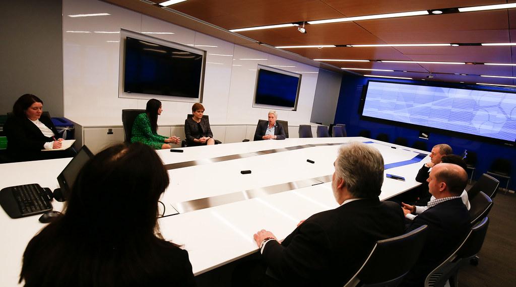 Morgan Stanley visit | Visit to Morgan Stanley | Scottish