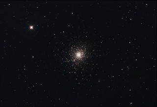 M5 Globular Cluster Stack_20frames_600s_WithDisplayStretch | by BlackWikkett