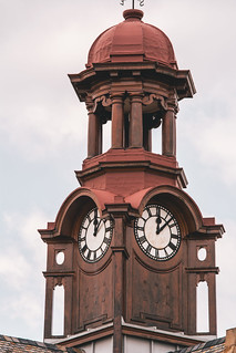 The clock tower of the Old Arts building at the University of Pretoria | by thomasmarshallinafrica