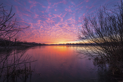 canon6d sunrise dawn clouds sky colour landscape waterscape lake water reflection outdoors nature uk cambridgeshire