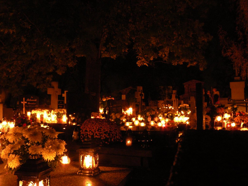 Candles for the All Souls' Day...