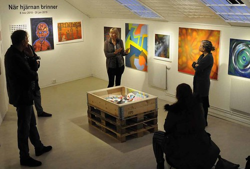 Joakim Anderssons verk ställs ut på Hyllan