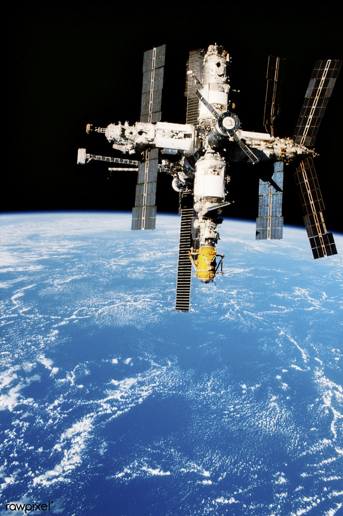 Survey Of The Mir Space Station Original From Nasa Digita Flickr