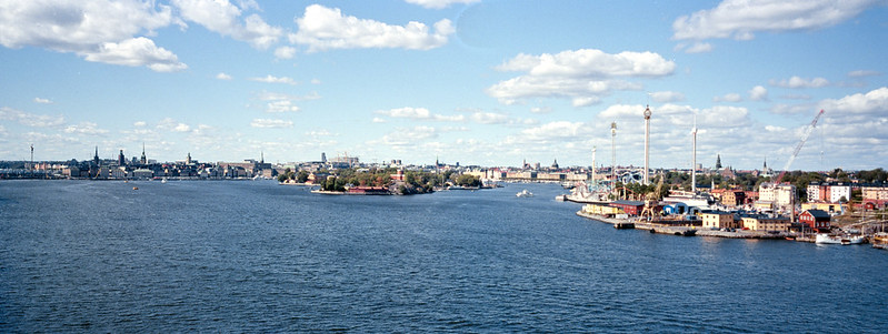 Stockholm from the harbor
