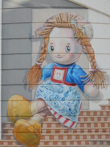 JBR Walk - NL muurschildering
