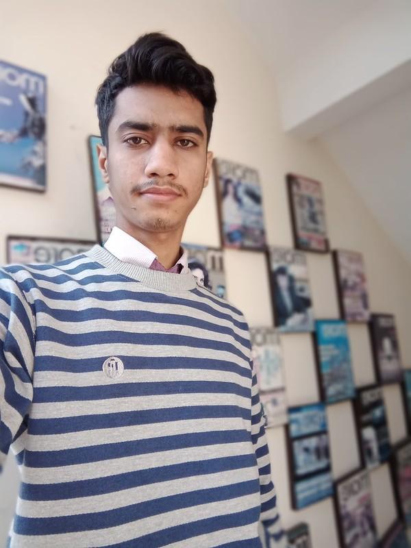 Selfie with Vivo Y91