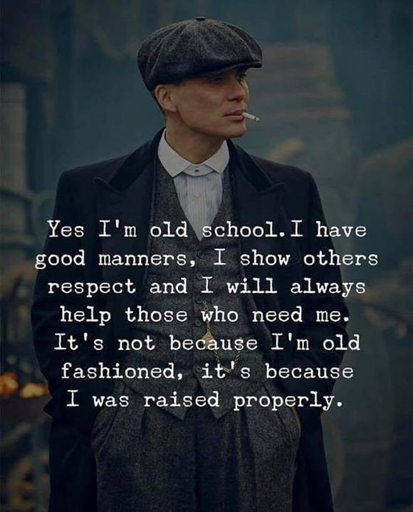 Best Positive Quotes : Yes Im old school.. | Best Positive Q ...