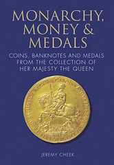 Monarchy Money and medals book cover