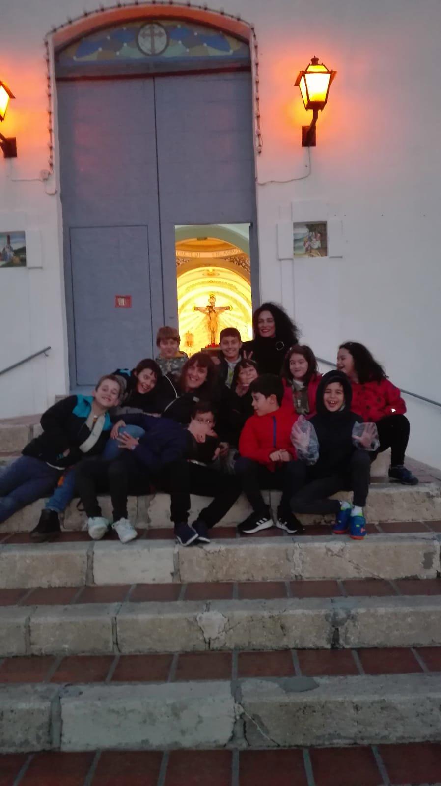 (2018-11-23) - Visita ermita  Esther-Maria Mercedes,2º,Catequesis - Vicente Rico (06)