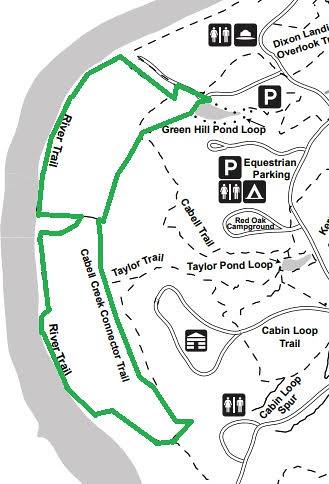 JR hike map | www.dcr.virginia.gov/state-parks/james-river#g ...
