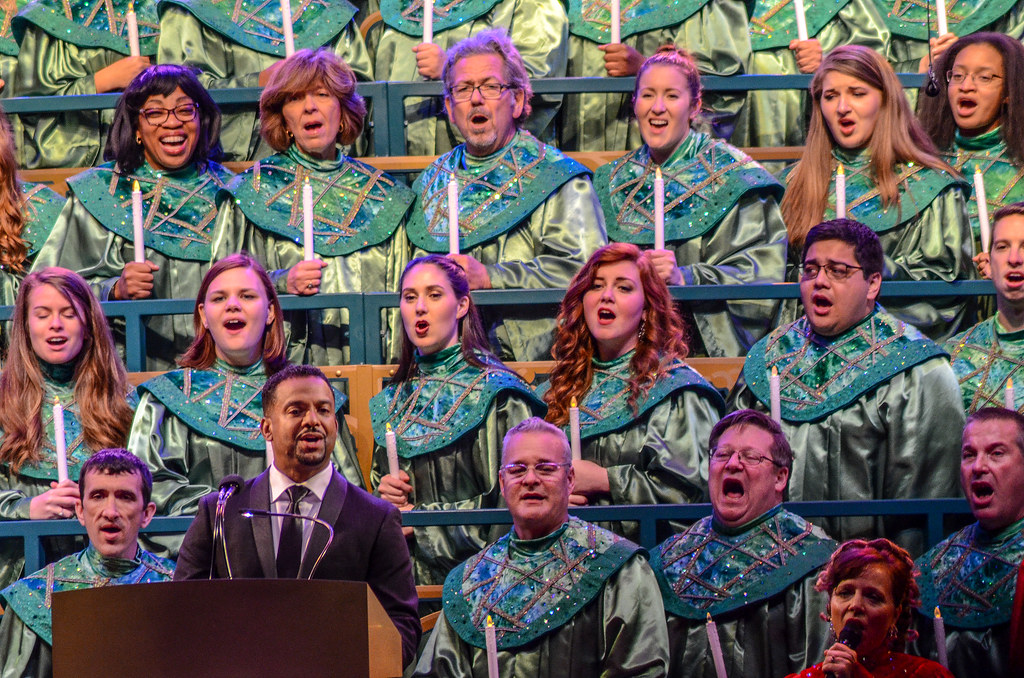 Candlelight Processional Alfonso Epcot