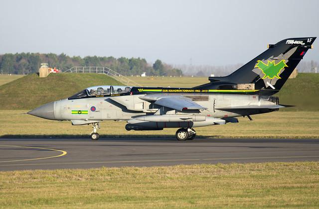 Panavia Tornado GR.4 ZG775 AF IX Sqn 12-12-18