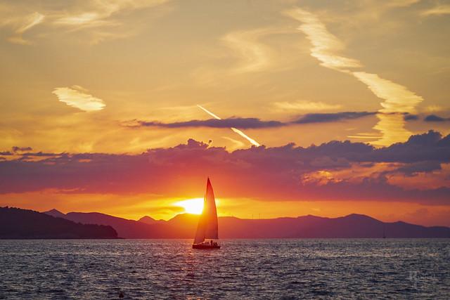 Croatian Sunset Sail
