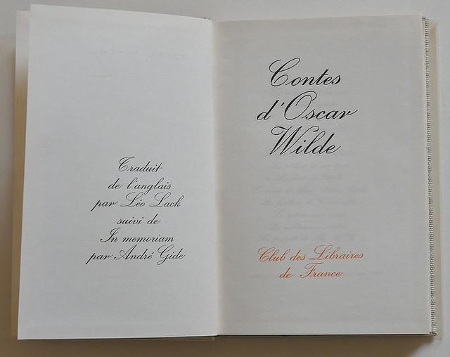 Contes d' Oscar Wilde
