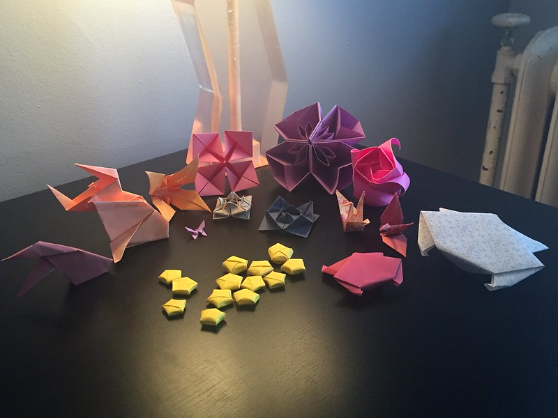 Taylor's Recent Origami