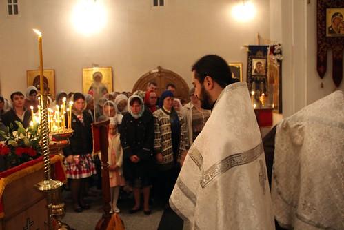 Пасхальное Богослужение в Свято-Никольском храме станицы Кавказской IMG_1199