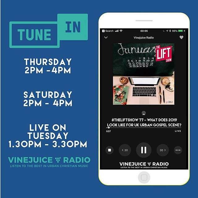 TUNEIN: Listen to #TheLiftShow @vinejuice #Radio on your @… | Flickr