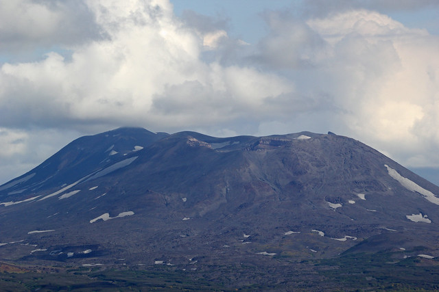 93. View Of Maly Semyachik Volcano 1560m, From The Base Of Karymsky Volcano, South Kamchatka, Russia