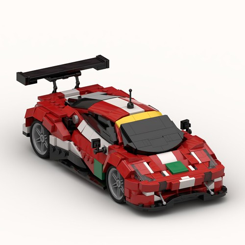 2018 Ferrari 488 GTE EVO #52 - Instructions | by Lasse Deleuran