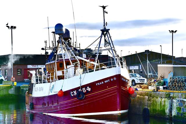 Fraserburgh Habour - Aberdeenshire Scotland - 13/11/2018