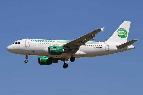 D-ASTZ Airbus A319-112 Germania | by LXKARL