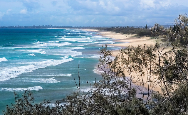 View from Point Cartwright, Qld.