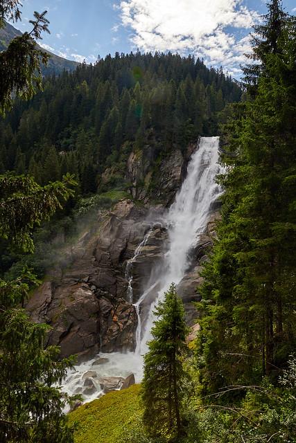 Der oberste Wasserfall