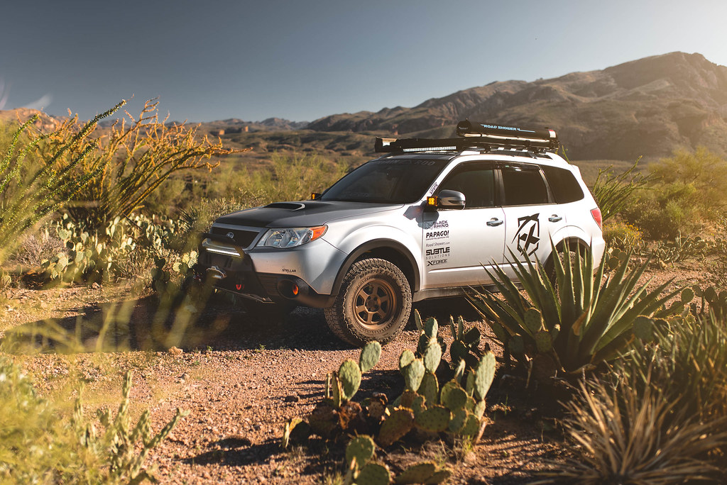 Subaru Forester Off Road >> Subaru Forester Xt Touring On Black Rhino Rumble 15x7 15 I Flickr