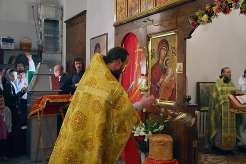 Пасхальное Богослужение в Свято-Никольском храме станицы Кавказской IMG_1278
