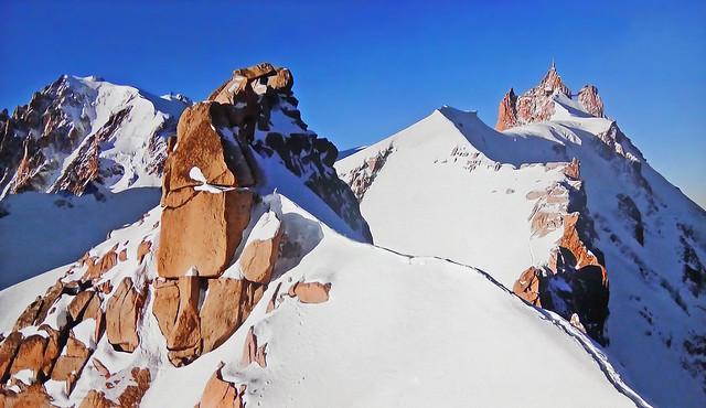 FRANCE - Alps -  Needle of the Midi