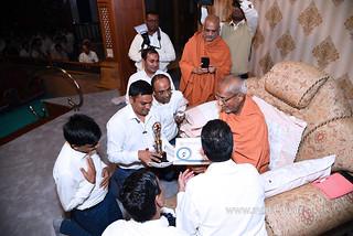 Std-10-11-12-visit-to-Haridham-for-Swamishree's-Blessings-(20)   by Atmiya Vidya Mandir