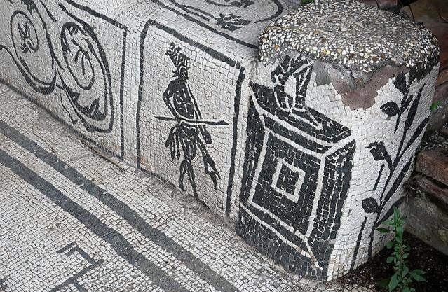 Ostia Antica: Mithraeum of the Seven Gates (detail)