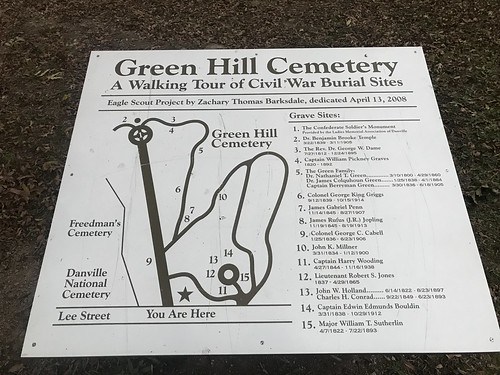 Green Hill Cemetery in Danville, Virginia | by julian meade