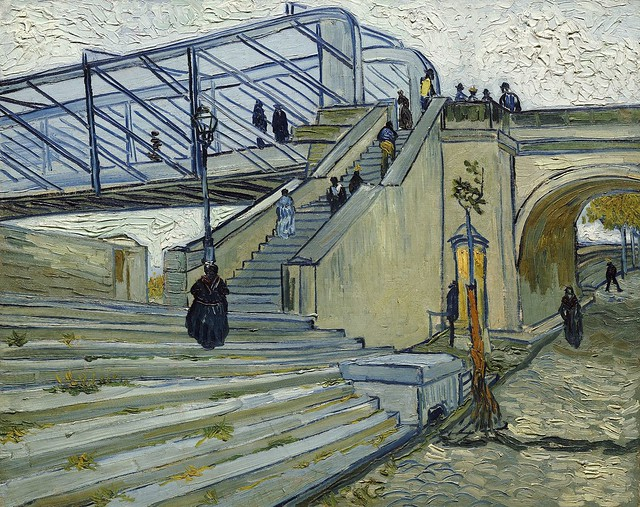 1888 Van Gogh The Trinquetaille Bridge(private collection)ultra HD