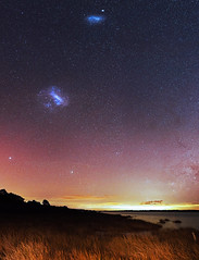 Magellanic Clouds - Lake Clifton, Western Australia