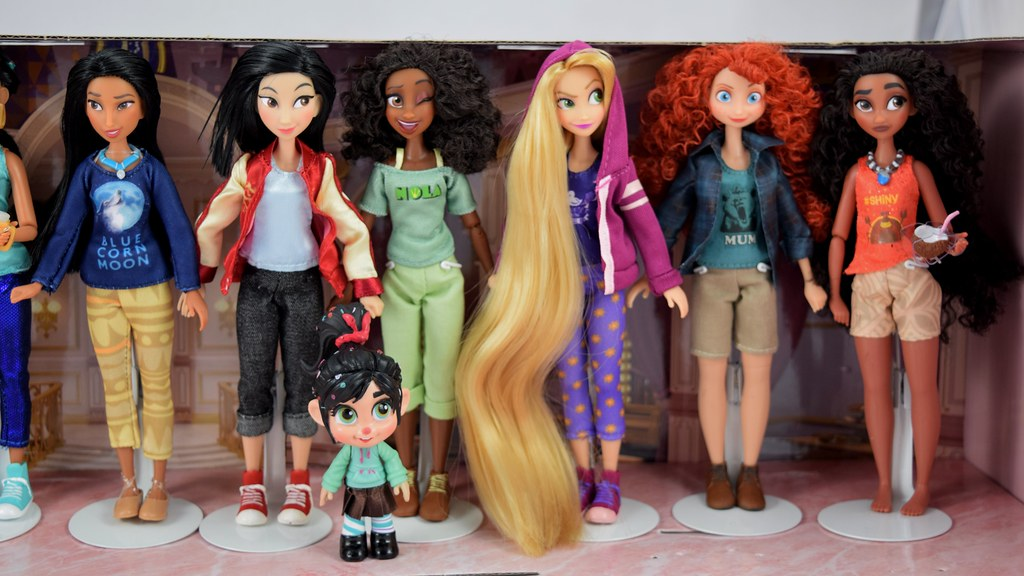 Vanellope With Princesses From Ralph Breaks The Internet D Flickr