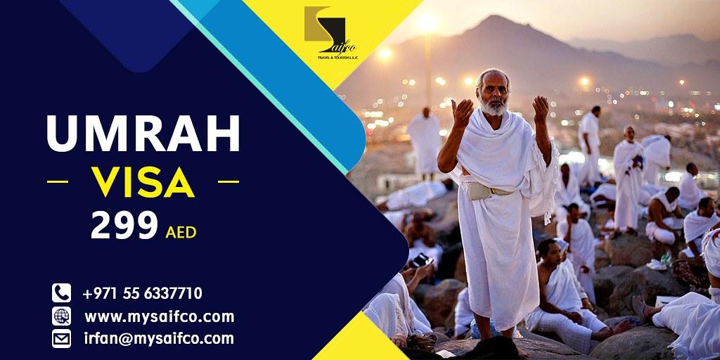 Umrah Banner: Umrah Visa From Dubai - Saifco Travel & Tourism