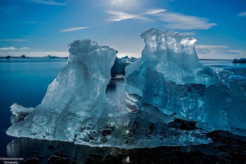 Glittering Ice -  Diamond Beach, Iceland | by Maria Gemma - A Passionate Photographer