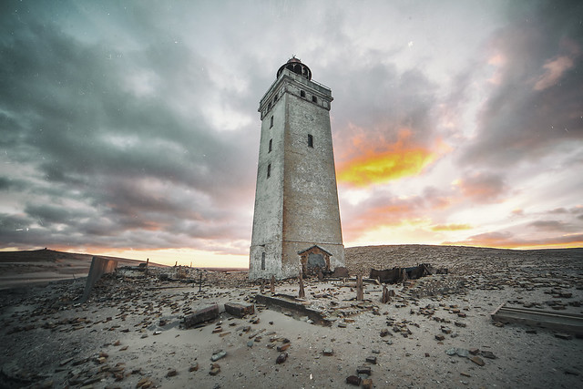 abandoned lighthouse from 1899